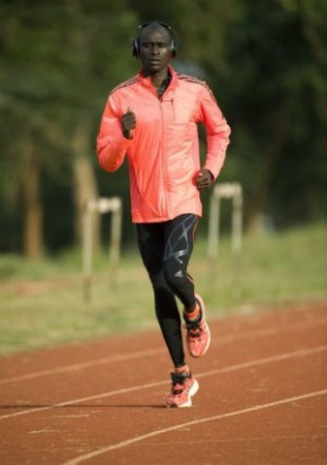 David Rudisha Training