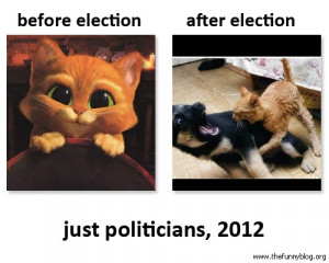 election 2012 before election after election just politicians