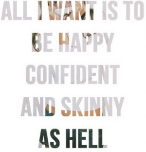 being skinny quotes