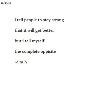 depressed, eating disorder, hopeless, poem, quotes, sad, stay strong ...