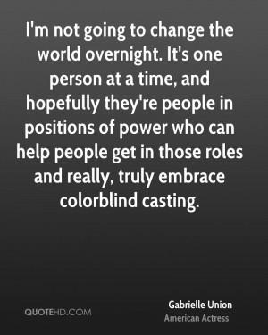 Gabrielle Union Power Quotes