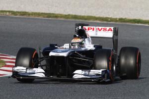 Pastor Maldonado, Williams - 2012 Qualifying - 8th, 2012 Race - 13th