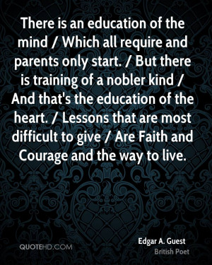 Edgar A. Guest Faith Quotes