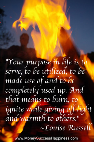 Fire quote