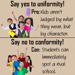 school uniforms good or bad Many students will head back to school in uniforms or wear clothes  usa today published 6  up out of uniform as an occasional reward for good.