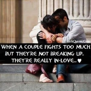 Love quotes fighting couples