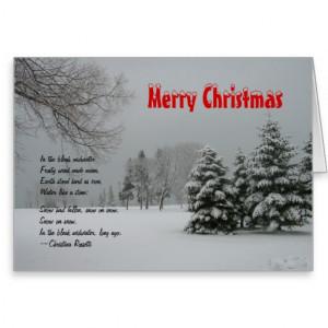 Merry Christmas Winter Snow Scenes