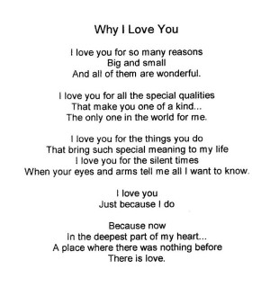 Love You Because Quotes For Her Why i love you