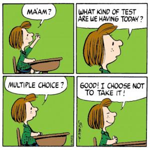 peppermint patty #school #Peanuts