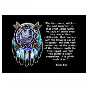 CafePress > Wall Art > Posters > Black Elk Quote Poster