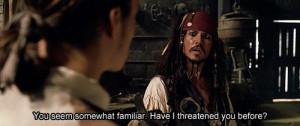 jack-sparrow-johnny-depp-movie-movie-quote-orlando-bloom-pirate-Favim ...