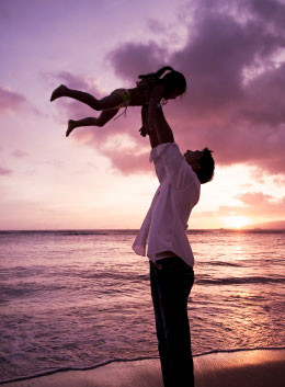 Dads – Forge a strong bond with your daughters.