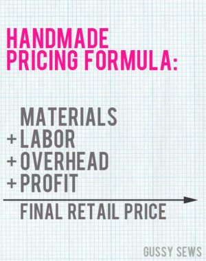 Handmade Business in 31 Days — Day 31, How to accurately price your ...