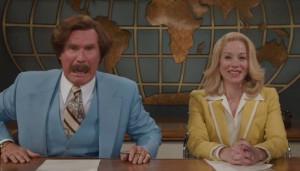 Anchorman 2 Will Ferrell Christina Applegate
