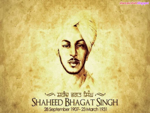 shaheed bhagat singh quote hd wallpaper shaheed bhagat singh life hd ...