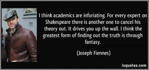 More Joseph Fiennes Quotes