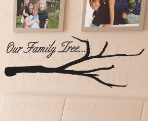 Wall-Quote-Decal-Sticker-Vinyl-Art-Lettering-Decoration-Our-Family ...
