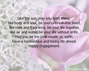 Engagement Card Messages