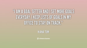 quotes goals and objectives