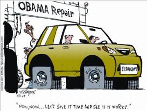 Obama Economy Repair Shop