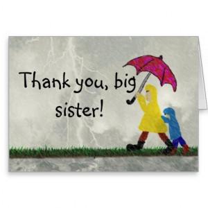 Thank You Big Sister...
