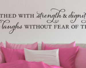... Quote - Proverbs 31:25 -