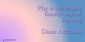 Diane Ackerman.