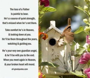 Loss Of A Father Quotes And Sayings. Poem Death Of A Father. View ...