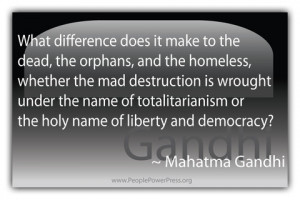 What difference does it make to the dead, the orphans, and the ...