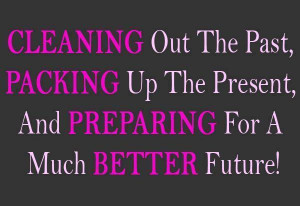 ... Up The Present, And Preparing For A Much Better Future Facebook Quote