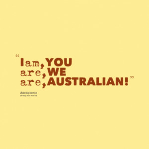 Quotes About: Australian
