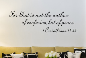 Bible Verse Wall Decal Quotes