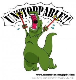 rex dinosaur comic metal arms unstoppable funny pics pictures pic ...