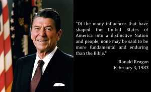 Words from Our Presidents: Reagan on the Bible