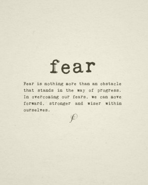 Quotes Fear