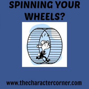 Spinning My Wheels Quotes