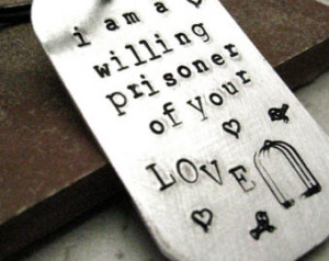 ... key ring, customize this with your own quote, master, slave, bdsm