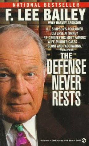 """Start by marking """"The Defense Never Rests"""" as Want to Read:"""
