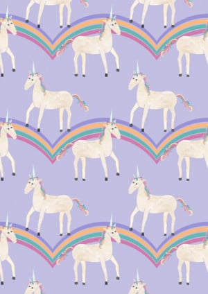 pastel unicorn wallpaper colorful pastel unicorn wall pastel unicorn ...