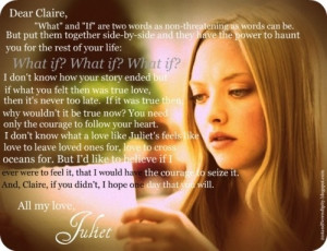 My favorite movie!!!! Letters to Juliet