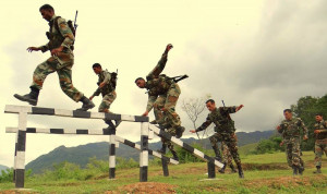 The Indo-Nepal Combined Military Training named Surya Kiran-V, held at ...