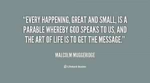 Malcolm Muggeridge Quotes Living Water Clinic
