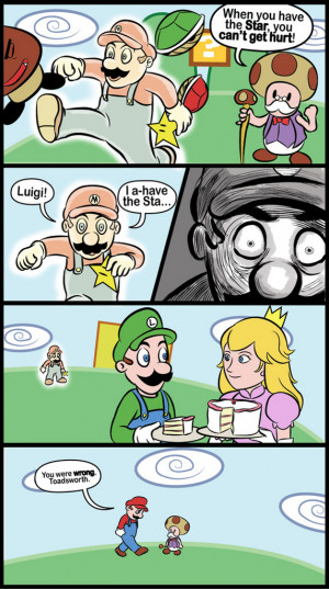Funny Mario Picture Compilation (30 Pics)