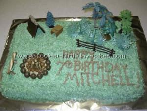 Strawberry Shortcake cake !