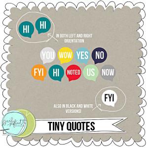 tiny quotes