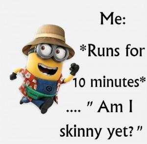 ... image include: workout, minions, autodiscipline, minion and motivation
