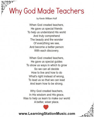 teacher inspirational poem