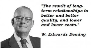 edwards deming famous quotes 3