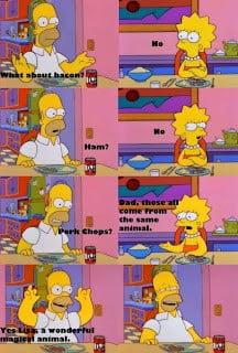 few Simpsons quotes and comics