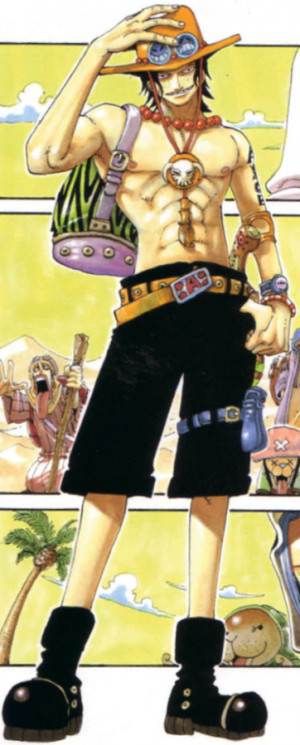 Portgas D. Ace Manga Infobox